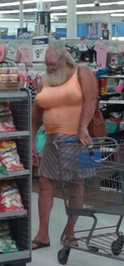 People walmart shoppers