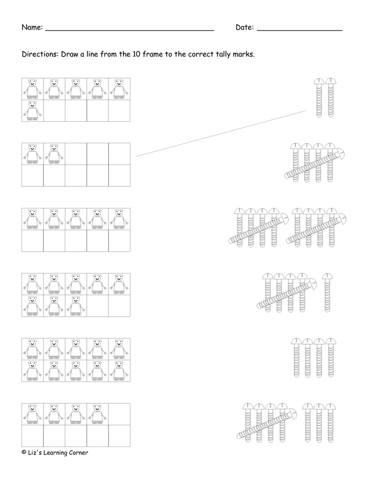 Snow Guides » Tally mark worksheets for first grade soft
