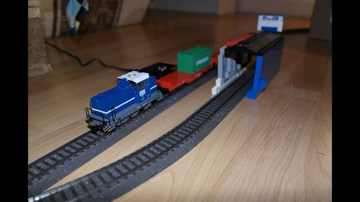 Modelleisenbahn aus Sicht des Zugs mit einer GoPro aufgenommen :)   #MärklinStartup #Spielzeug #Eisenbahn #Zug #Lokomotive