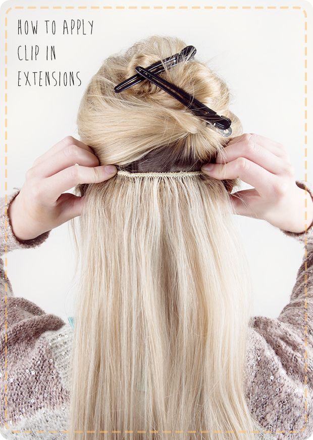 349 best hairhair extension ideas images on pinterest hair makeup bonus how to apply extensions yourself solutioingenieria Image collections