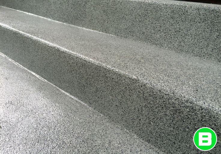 Revêtement pour plancher #marches #béton