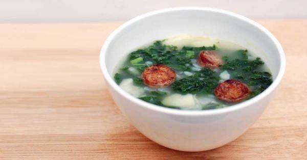 Caldo Verde: Portuguese-Style Kale and Potato Soup Recipe - Real Food ...