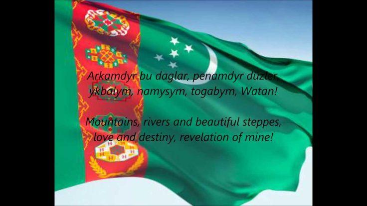 "Turkmen National Anthem - ""Garaşsyz, Bitarap Türkmenistanyň Döwlet Gimni..."