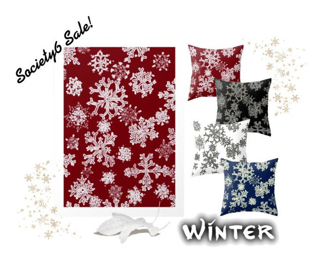 Winter Decor by adriana-mijaiche on Polyvore featuring interior, interiors, interior design, home, home decor and interior decorating