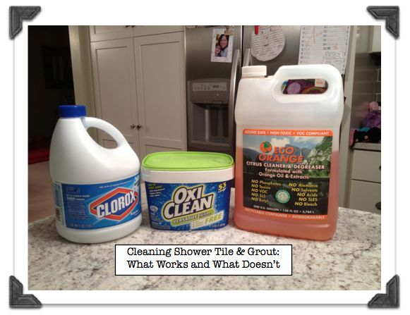 Cleaning Shower Ceramic Tile Grout What Works And Doesn T Best Tips