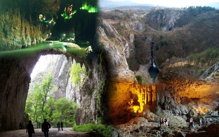 Skocijan caves