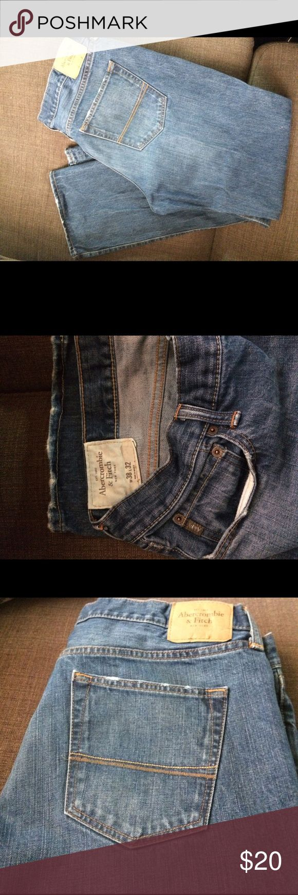 Abercrombie and Fitch jeans for Men Excellent condition. Worn twice. Size 38x32 men's Abercrombie boot cut jeans. Abercrombie & Fitch Jeans Bootcut
