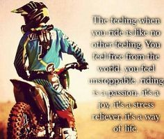 dirt bike quotes about life - Google Search