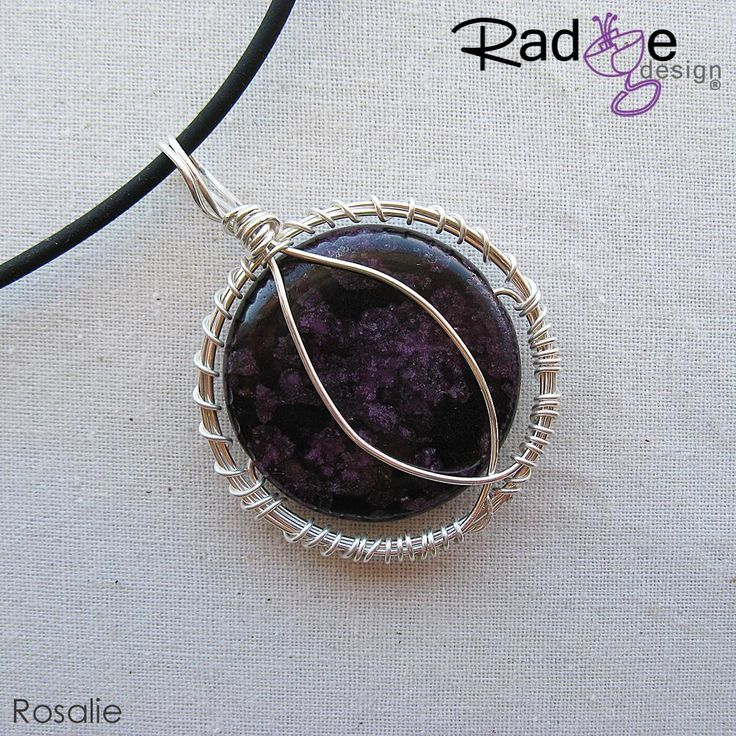 $140 Rosalie Sterling Silver Pendant by radgedesign on Handmade Australia