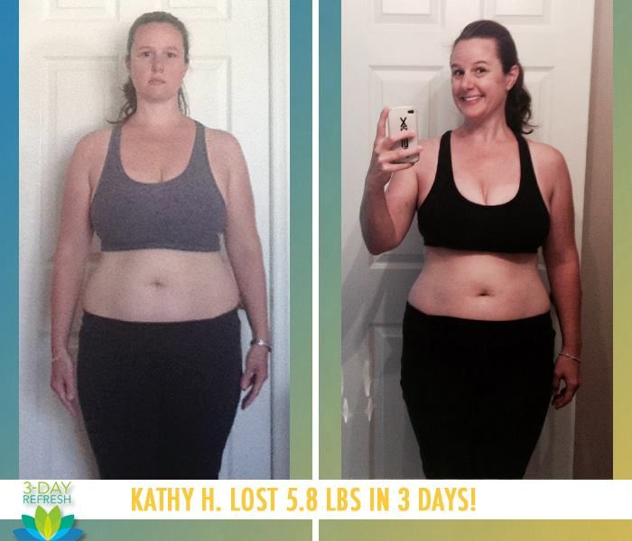 Beachbody 3 Day Refresh Reviews & Results: Kathy H. lost 5.8 lbs in 3 days with the Beachbody 3-Day Refresh! http://www.onesteptoweightloss.com/beachbody-3-day-refresh-cleanse