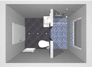 Beispielbilder aus unserer 3-D Badplanung
