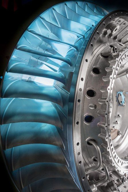 The Rolls-Royce Trent XWB-97has 68 turbine blades