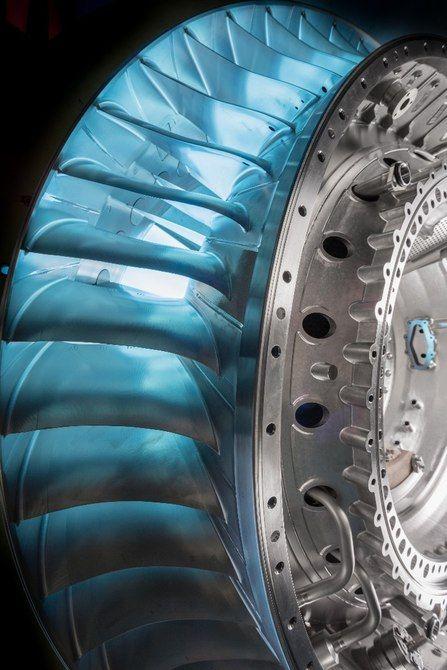 The Rolls-Royce Trent XWB-97has 68 turbine blades