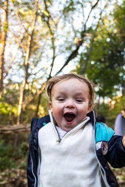 Brooke Wedlock - Running Boy #babyportraits #babyboy #portrait #familyphotographer #familyportraits #torontophotographer #naturallight #autumn #leaves #running #happiness #toddler #fall #lifestyle