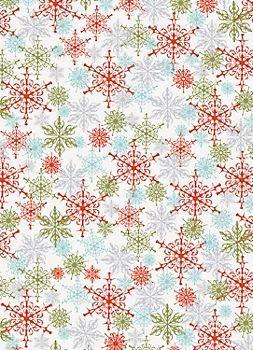 Urban Snowflakes Wrapping Paper                                                                                                                                                                                 Más