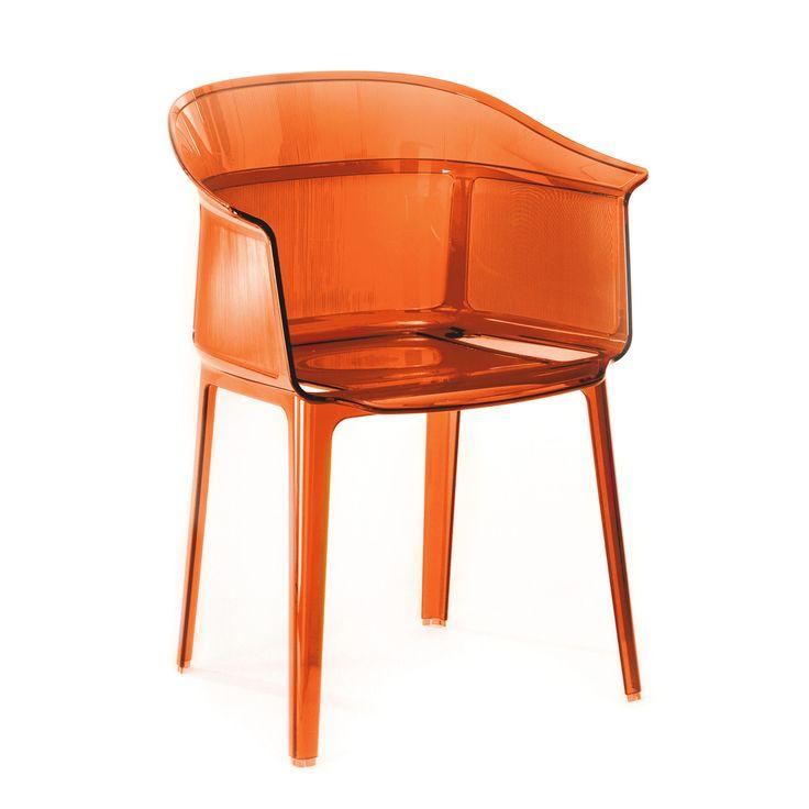 Kartell - Papyrus Armlehnstuhl, rot-orange Jetzt bestellen unter: https://moebel.ladendirekt.de/kueche-und-esszimmer/stuehle-und-hocker/armlehnstuehle/?uid=cae39706-9812-5520-a9ea-cd0b727a99d0&utm_source=pinterest&utm_medium=pin&utm_campaign=boards #shop #ronan #stuehle #kartell #kueche #stuhl #papyrus #armlehnstuhl #design #sessel #esszimmer #armlehnstuehle #hocker