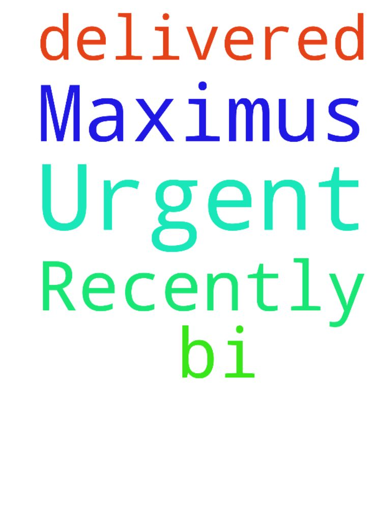 Urgent prayer request :Recently Maximus was delivered -  BI U  Posted at: https://prayerrequest.com/t/HAB #pray #prayer #request #prayerrequest