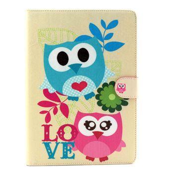 Best price on iPad 6 / iPad Air Flip Cover Case Protector Cute Owl Print…