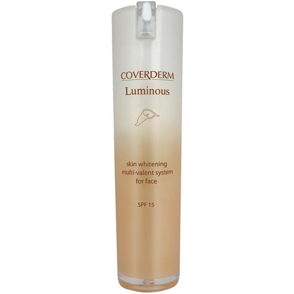 CoverDerm Luminous 1 oz. Facial Day Cream at www.bebeautiful.com