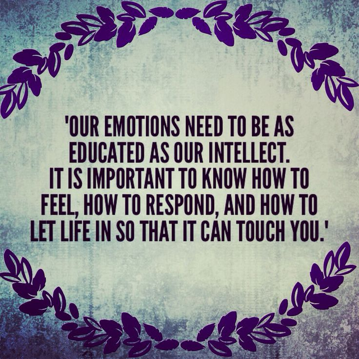 Being Emotional: 17 Best Images About Emotional Intelligence On Pinterest