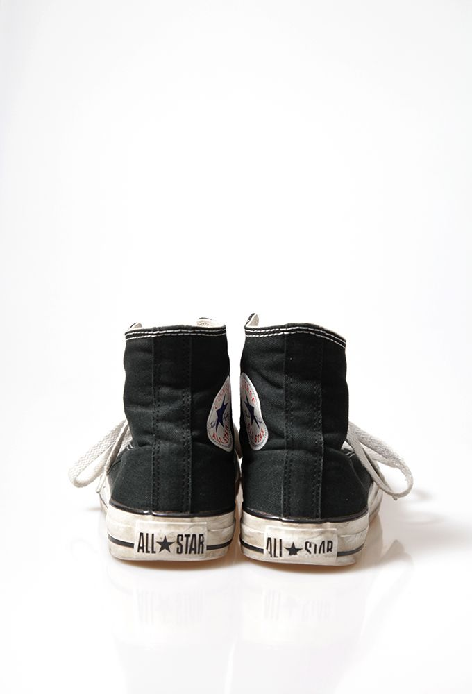 All star classic high top - black