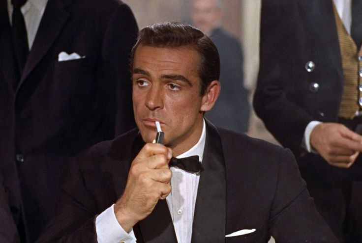 Sean Connery's introduction as James Bond in Dr. No (1962)...he was Bond from 1962-1967 and again in 1971 and 1983