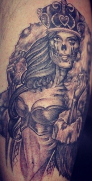89 best images about ink inspiration on pinterest the for King and queen skull tattoos