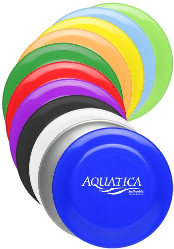 9.25 in. Solid Color Flying Discs with Free Shipping