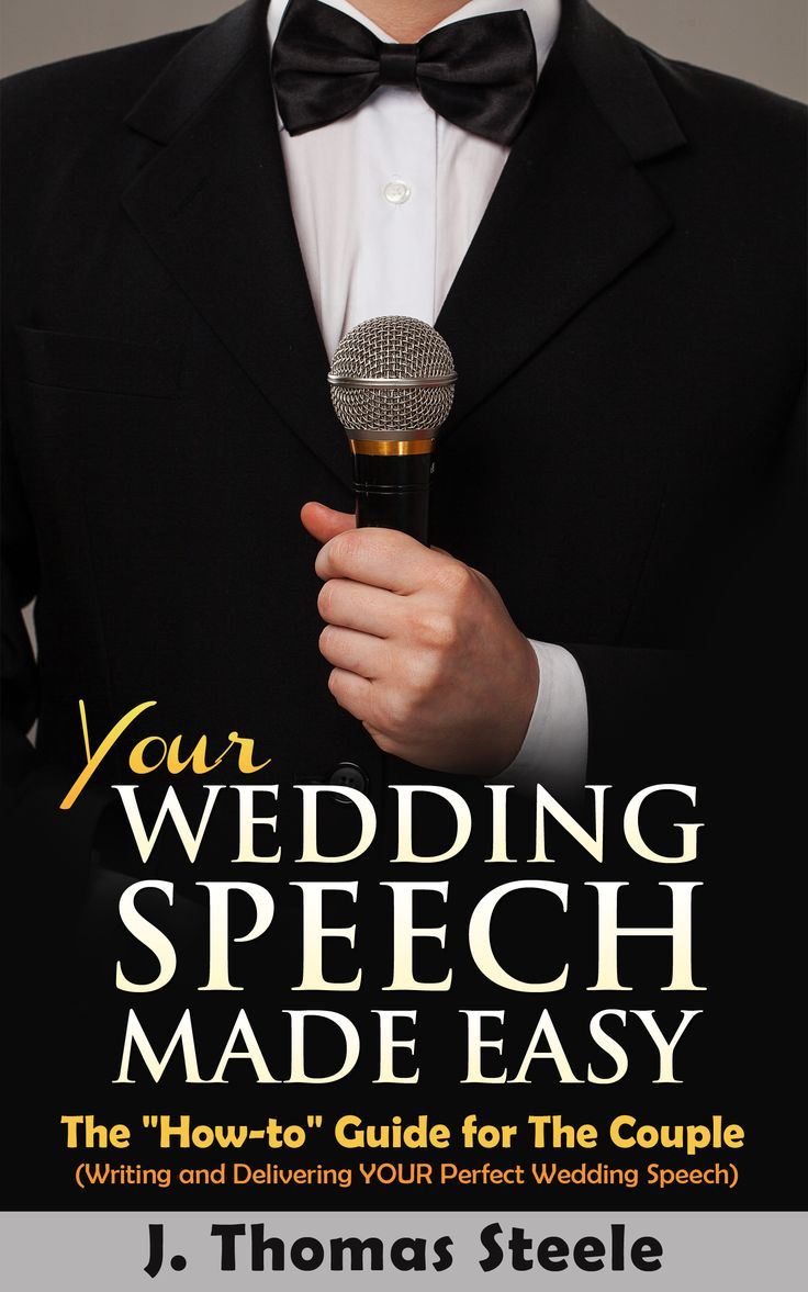 """In this book you'll learn: How to prepare to write the speech for the rehearsal and the reception; How to practice your speech effectively and add just the right touch of emotion; How to deliver your speech dramatically and memorably; How to write for """"special situations"""", second marriages, step-parents, same-sex marriages; The appropriate Thank You's to include; and even a little about the history of the wedding reception! PLUS the Appendices are overflowing with quotations and cheat sheets"""