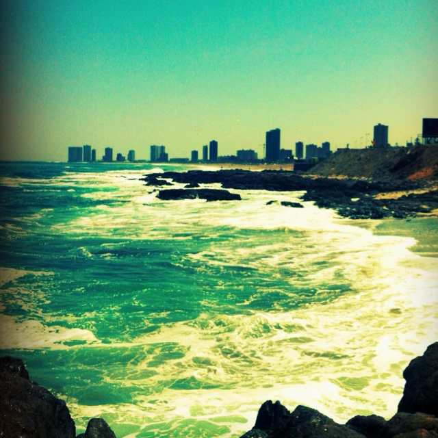 Brava Beach, Iquique, Chile.