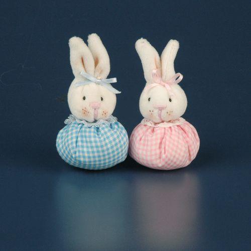 Para baby shower conejitos de tela decoracion de baby shower