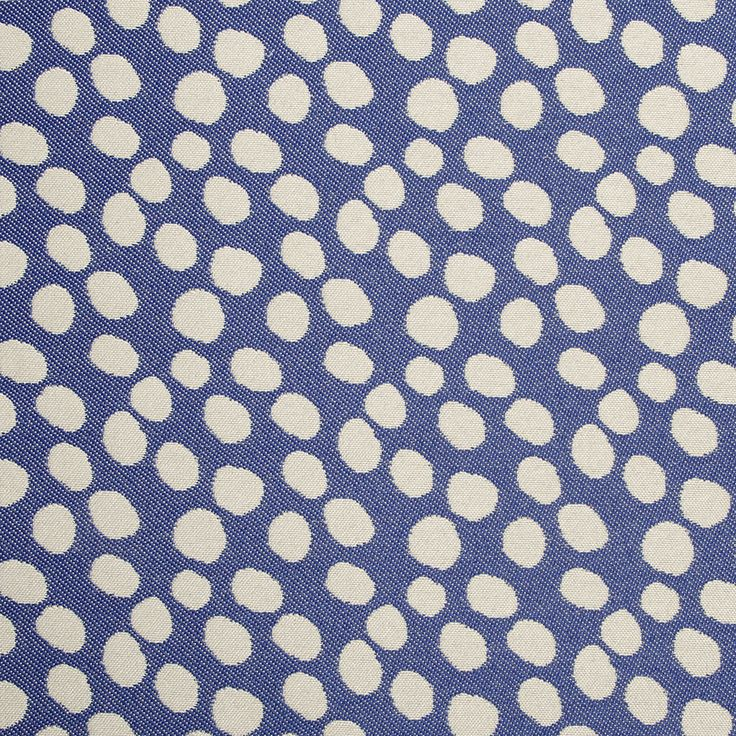 This Indoor/outdoor Fabric Is Woven From Polypropylene, It Features A  Playful Polka Dot Pattern ...