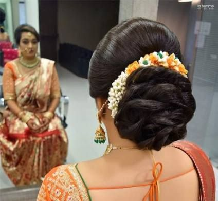 62+ Trendy Hairstyles Bridal Indian Low Buns