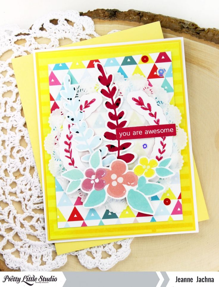 Card | You Are Awesome! » Pretty Little Studio