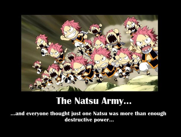 Army of Natsus by TheDarkSide53.deviantart.com on @deviantART