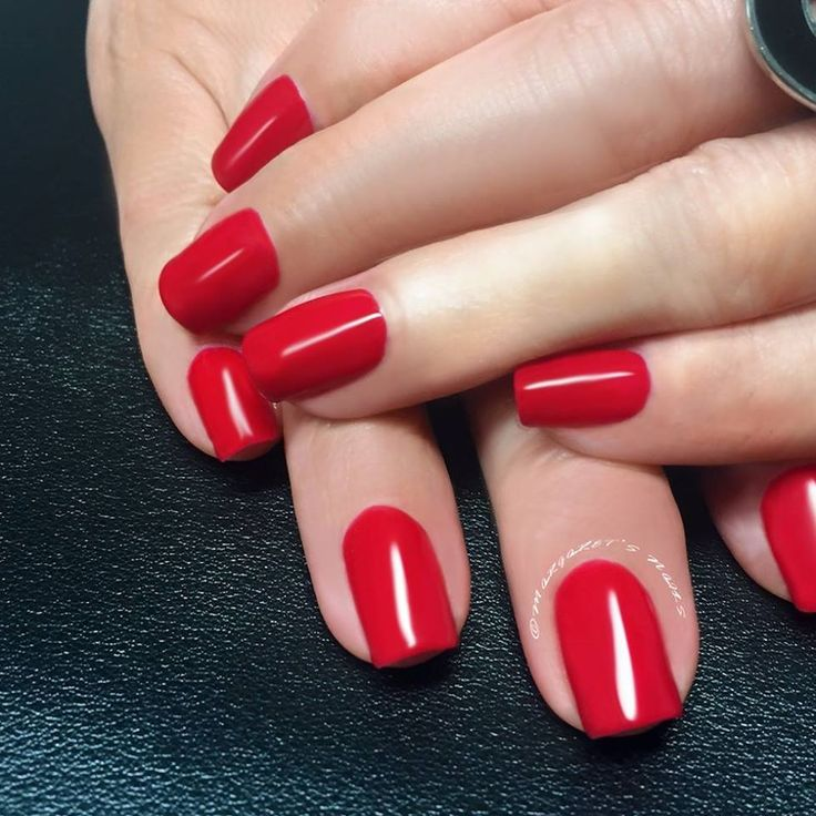 Shine brighter than ever in this vibrant red.  Ph: 0413 779 447 OR book online: www.margaretsnails.com.au/#booking