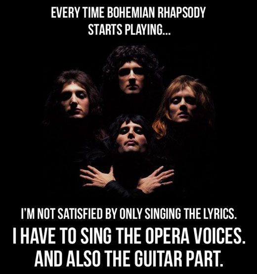 Bohemian RhapsodyMusic, Bohemian Rhapsody,  Dust Jackets, Queens, Funny,  Dust Covers, Book Jackets, True Stories,  Dust Wrappers