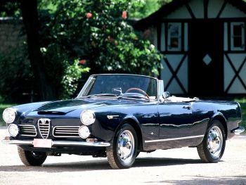 Alfa Romeo 2600 Spider (106) '1962–65