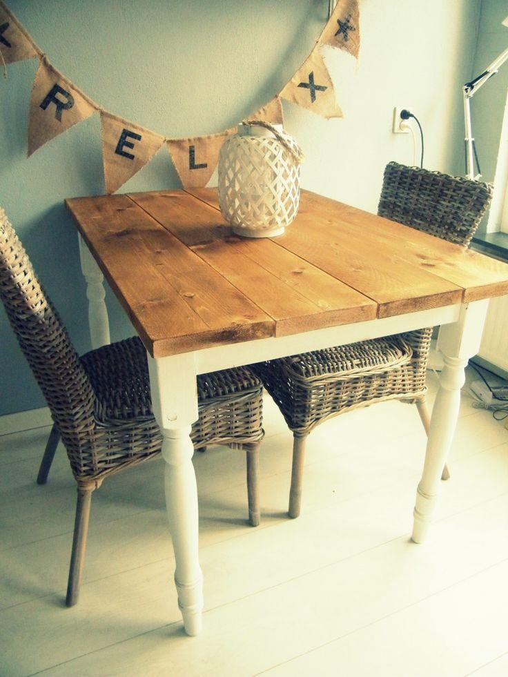 Kies voor een steigerhouten tafelblad | vtwonen