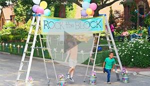 Block party ideas.  Looks like fun.