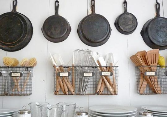 magazine rack storage for kitchen