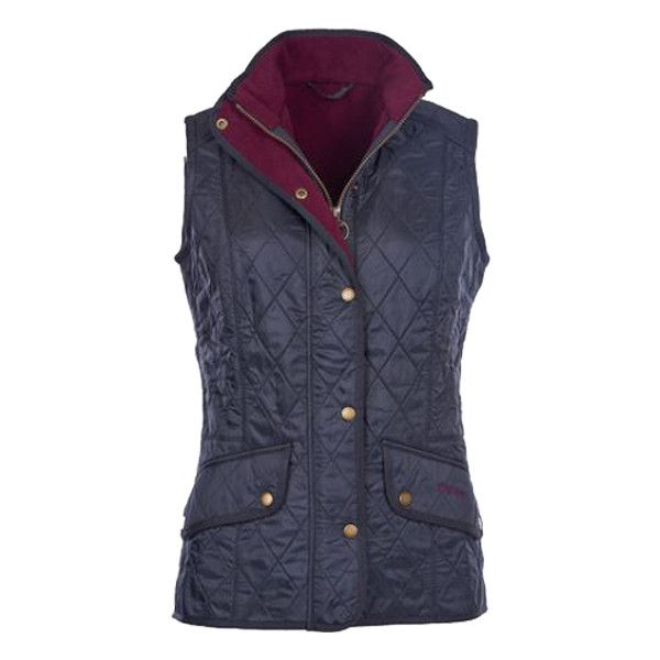 Barbour Cavalry Quilted Gilet in Navy ($179) ❤ liked on Polyvore featuring outerwear, vests, navy, navy waistcoat, navy blue vest, barbour gilet, barbour and barbour vest
