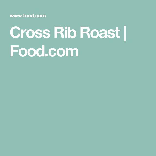 how to cook beef chuck cross rib roast boneless