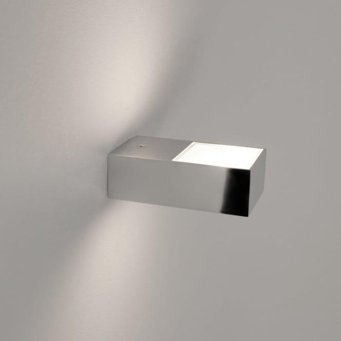 0672 Kappa 1 Light IP44 Wall Light Polished Chrome