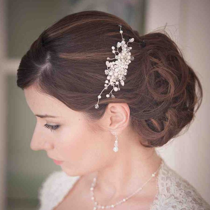 34 best wedding hair combs images on Pinterest | Hair comb ...