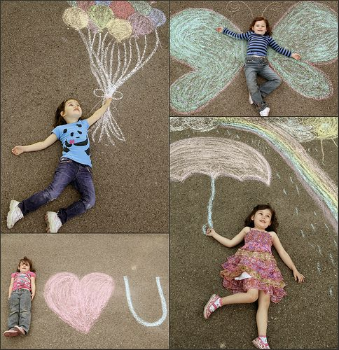 Sidewalk Chalk Recipes | creative gift ideas