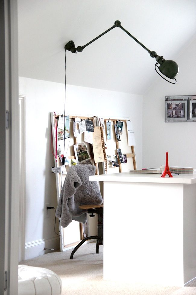 Best 108 home office vintage industrial images on for Best floor lamp for home office