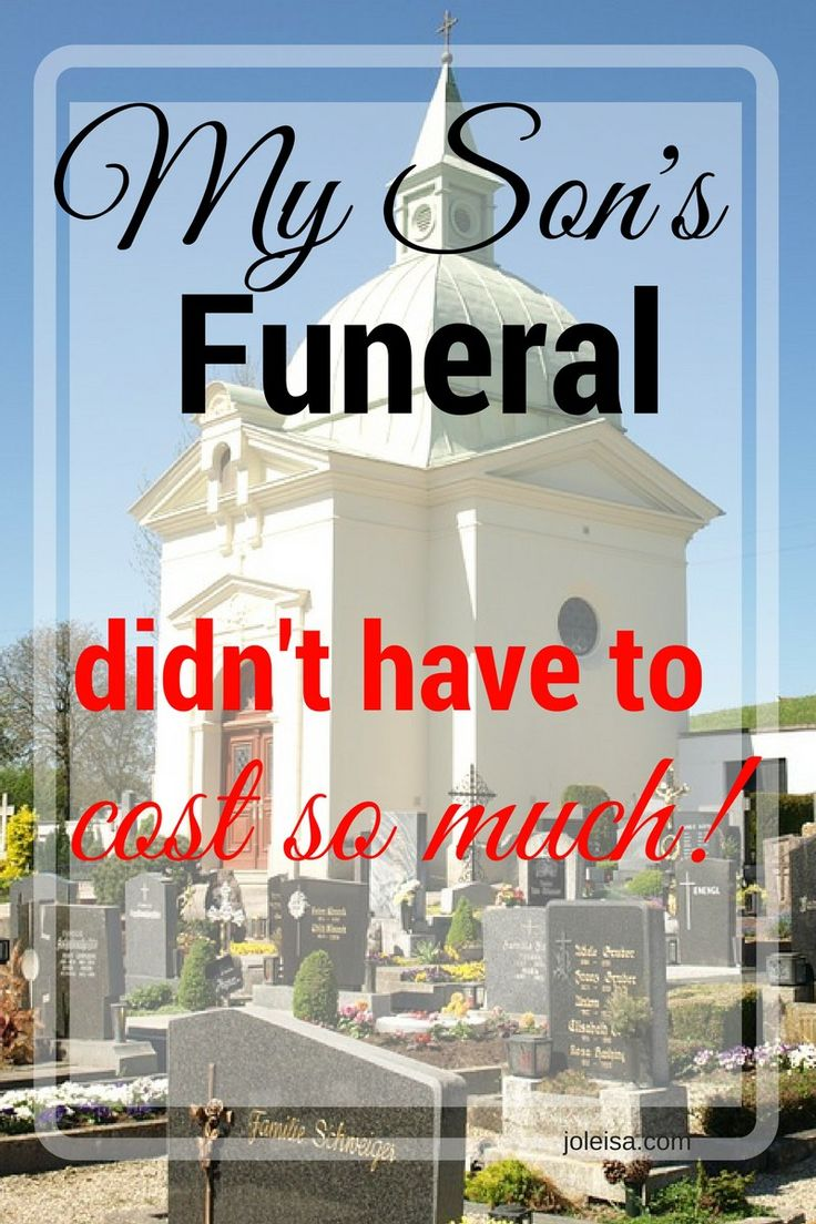 How to bring down the cost of a funeral