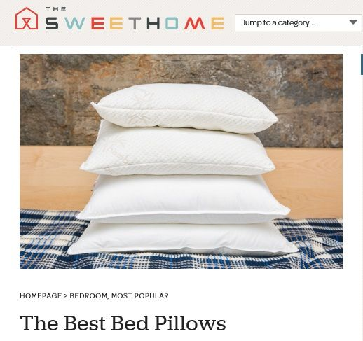 http://thesweethome.com/reviews/best-bed-pillows After spending a combined 242 nights on 31 pillows and talking with a half-dozen sleep and industry experts, we've concluded that the best pillow for most people is the Xtreme Comforts Shredded Memory Foam Pillow.