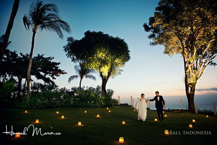 Stunning field of candles overlooking the Indian Ocean at this destination wedding in Bali, Indonesia. Hannah Marie, Waterloo Wedding Photographer www.hannahmarie.ca